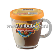 300g mug of two coloured spread