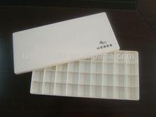 36lattice rectangle plastic palette
