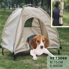 pet products durable oxford fabric foldable water proof dog bed tent