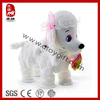 Sedex BSCI factory electronic moving walking dog plush toy