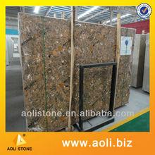 faux brick interior walls artificial marble table tops