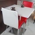 Black mármore italiano mesa de jantar/indiana mesa de jantar e cadeiras