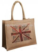 factory wholesales jute shopping bag/jute shopping bag/folding bag for shopping
