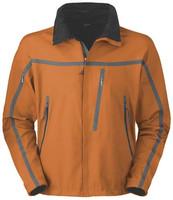 Brown No Hood Softshell Jacket Crane Sports For Men