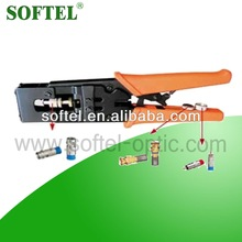 rg11 compression tool,rg11 cable connectors/coaxial kabel,bnc connector/rg59 kabel
