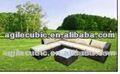 10216 muebles de mimbre con tabla de planchar