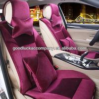 women's fancy fashion car seat covers