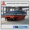 motorized transfer trailer for steel plate transportation