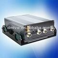 Dvr ce rohs fc 4 canal carro blackbox câmera duak- prova de choque do carro dvr com sms& gps
