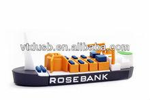 Promotion plastic ship shape usb flash drive,usb memory,2.0 usb plastic cargo ship usb key plastic cargo ship pen drives key pen