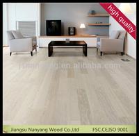 white stained oak floating engineered wood flooring