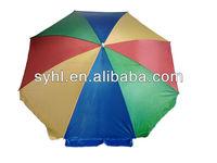 42inch Beach Umbrella in 210D oxford fabric