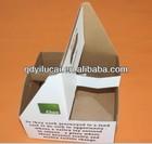 2014 YiLuCai hot sale cheap 4 bottle wine carrier box