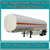 3 Axles Steel Aluminum oil tanker trailer used oil tanker