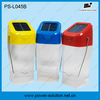 Solar powered lithium battery lantern with LIFE PO4 battery for indoor and outdoor