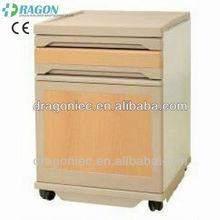 DW-CB005 modern bedside cabinet medical furniture made of plastic