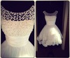 Real Lace Beaded Alibaba Sexy Short Wedding Dresses