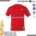 2014 deportes de alta calidad ropa de poliéster atheletic t camisa gimnasio desgaste de venta al por mayor gimnasio desgaste