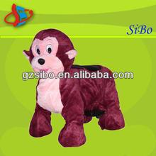 GM5922 new product plush monkey rides names china wholesale