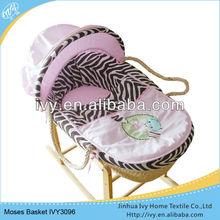 Natural Carrier Basket Best Bassinet For Newborn