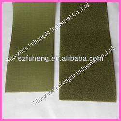 Olive green Velcro Nylon hook loop fastener tape