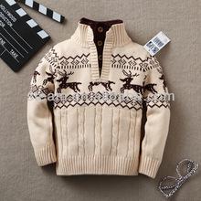 Children Sweater /100% Cotton Child Sweater/School pullover