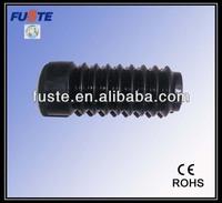 custom molded rubber bellows