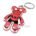 Acrílico anel chave chaveiro do homem aranha projeto dos desenhos animados