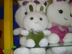 30cm popular and fashion plush fruit rabbit toys