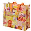 Waterproof woven bag /Fashion waterproof foldable shopping bag /custom snapback calico bag