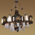 antiguo candelier marroquíes de estilo árabe araña de latón marroquí linterna lighting2014