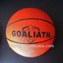 wholesale 8 panels rubber mini basketball 1#