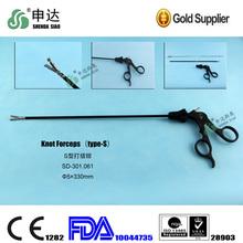 2014 laparoscopy instruments grasping forceps knot forceps
