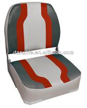 #86515 Red big man folding boat seat