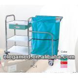 China PC-I 1000*500*810 / 950mm hospital medical utility nurse trolley