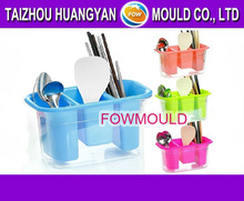 OEM custom plastic draining rack with sucker mould manufacturer