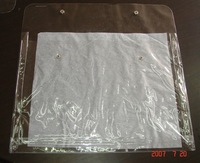 heat sealed PVC bags with snap button