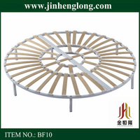 king size wooden round bed frame sale
