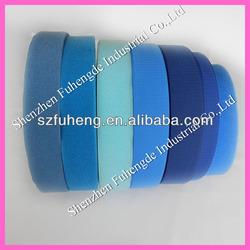 Blue Sew on Nylon Hook and loop Velcro tape