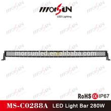 50 inch 288W 4x4 Led Car Light, Curved Led Light bar Off road,auto led lights arch bent