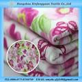 Tissu de coton tricoté floralesaccepter/impression de grandes fleurs/bon prix