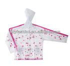 PVC Cute All Over printing Kid Clear Raincoat/Rainwear/Rain coat