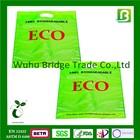 PBAT Biodegradable resealable plastic bags with handle