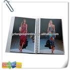 2014 Fashion Popular Garment Brochure Design Printing