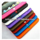 Silicone Soft Rubber Skin Case Cover for iPad 2/3 Protects Scratche Shock