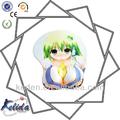 أنيمي فتاة sexi 3d الساخنة لعبة صور الصين الصانع الماوس المعصم هلام منصة