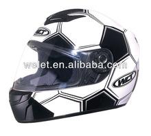 Football helmet, ECE full face helmet