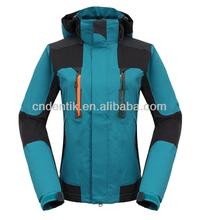 Women's hard shell waterproof jacket