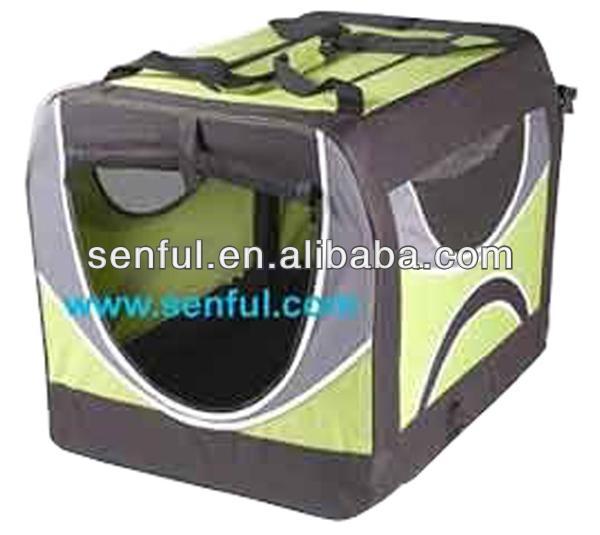 Soft Side Carrier Dog Travel Crate Foldable Dog Carrier
