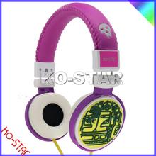 Très chaud casque, Mix DJ musique casque pour mobile téléphone casque / haute définition isolement alimenté casque stéréo